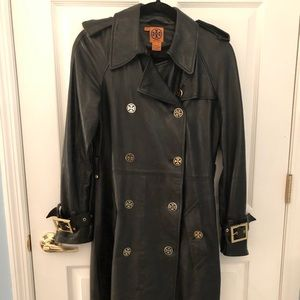 TORY BURCH REAL LEATHER JACKET